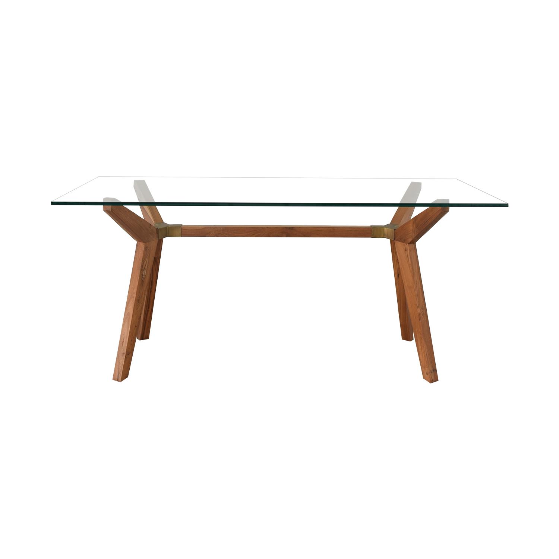 Crate & Barrel Strut Table / Tables