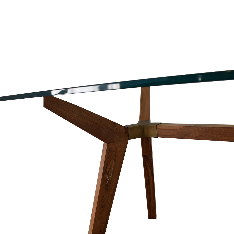 Crate & Barrel Crate & Barrel Strut Table nyc