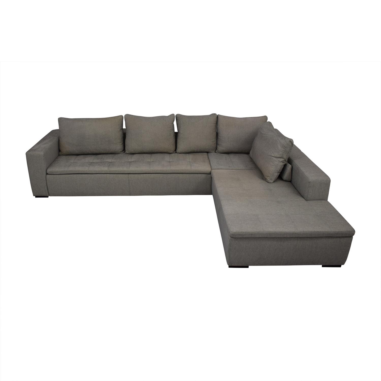 78% OFF - BoConcept BoConcept Mezzo Corner Sectional Sofa / Sofas