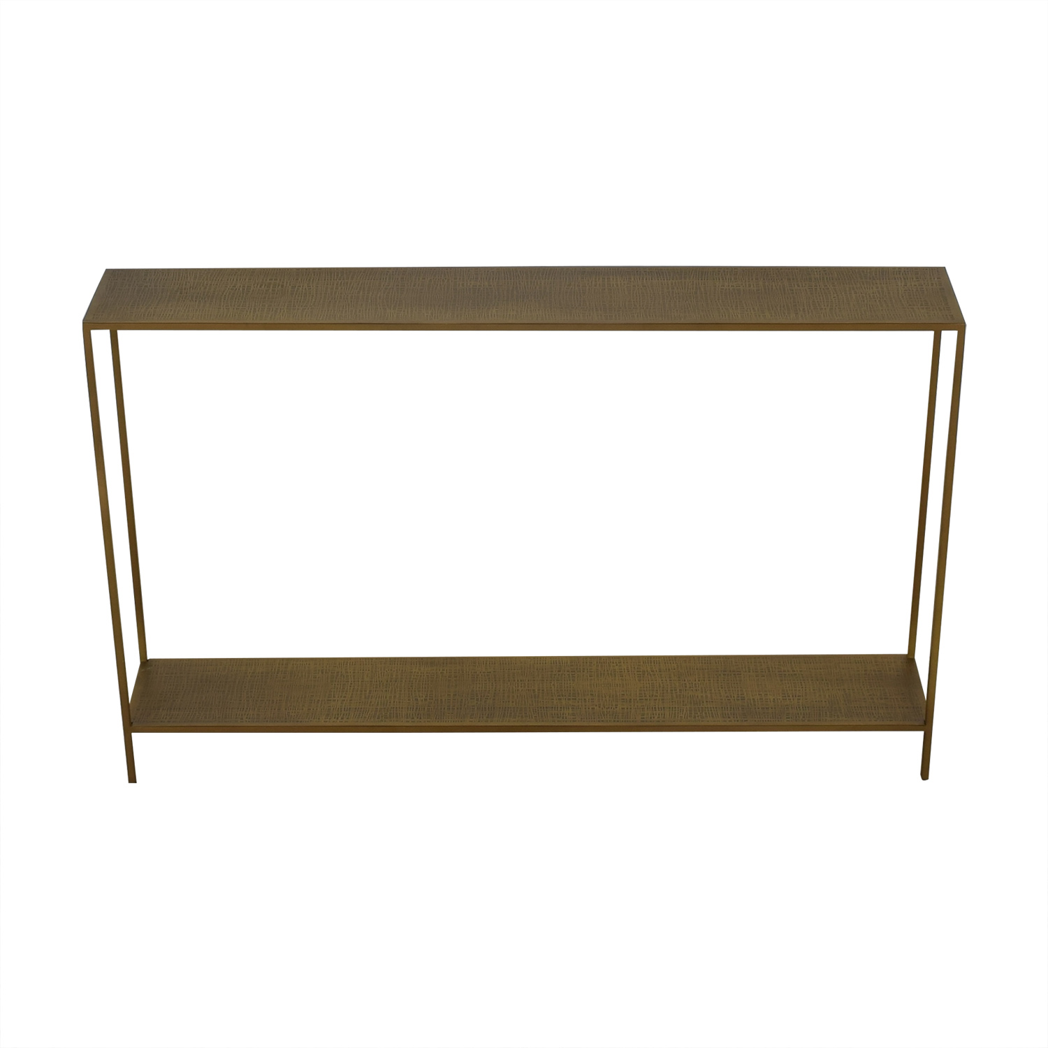 Crate & Barrel Jacque Console Table sale