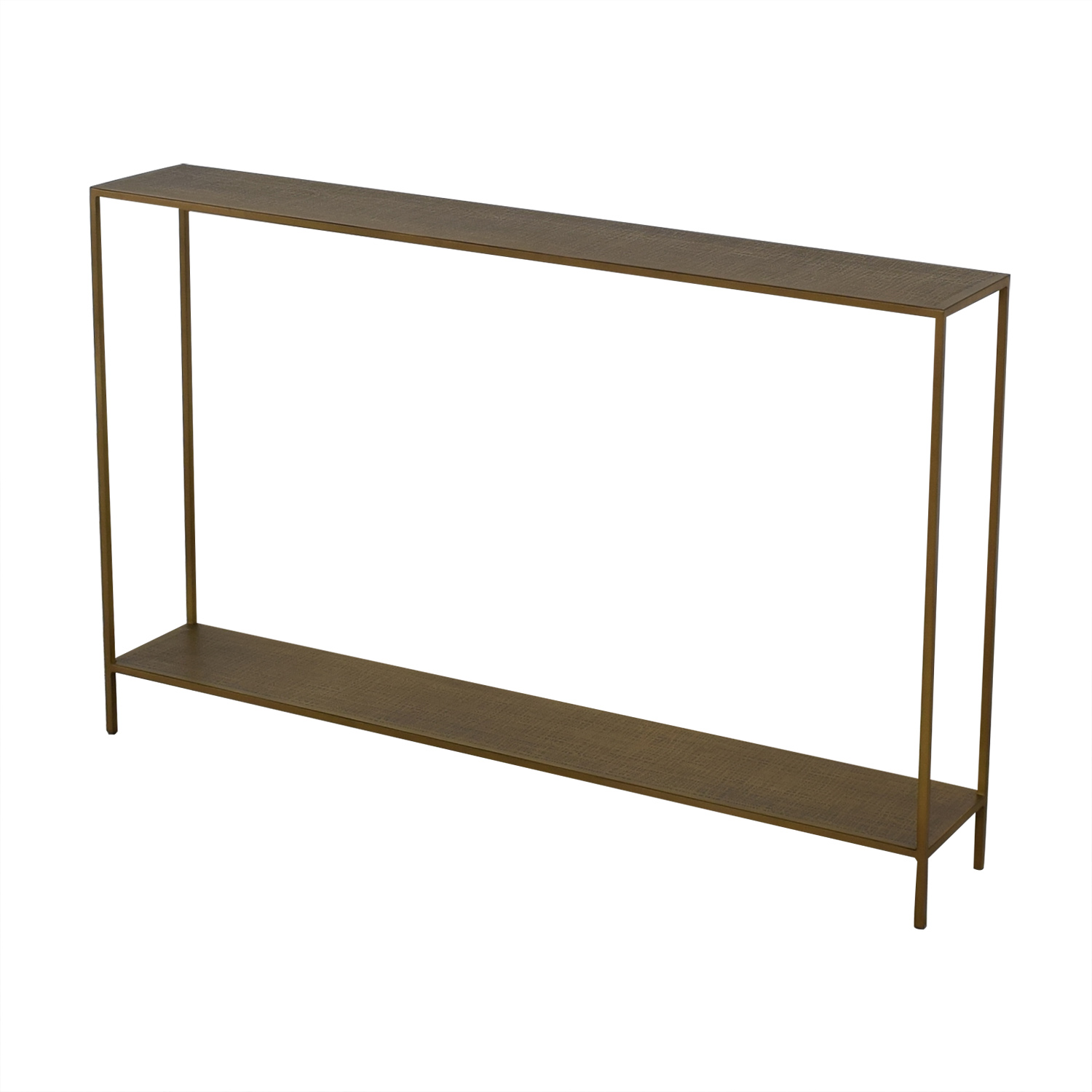 shop Crate & Barrel Jacque Console Table Crate & Barrel Coffee Tables
