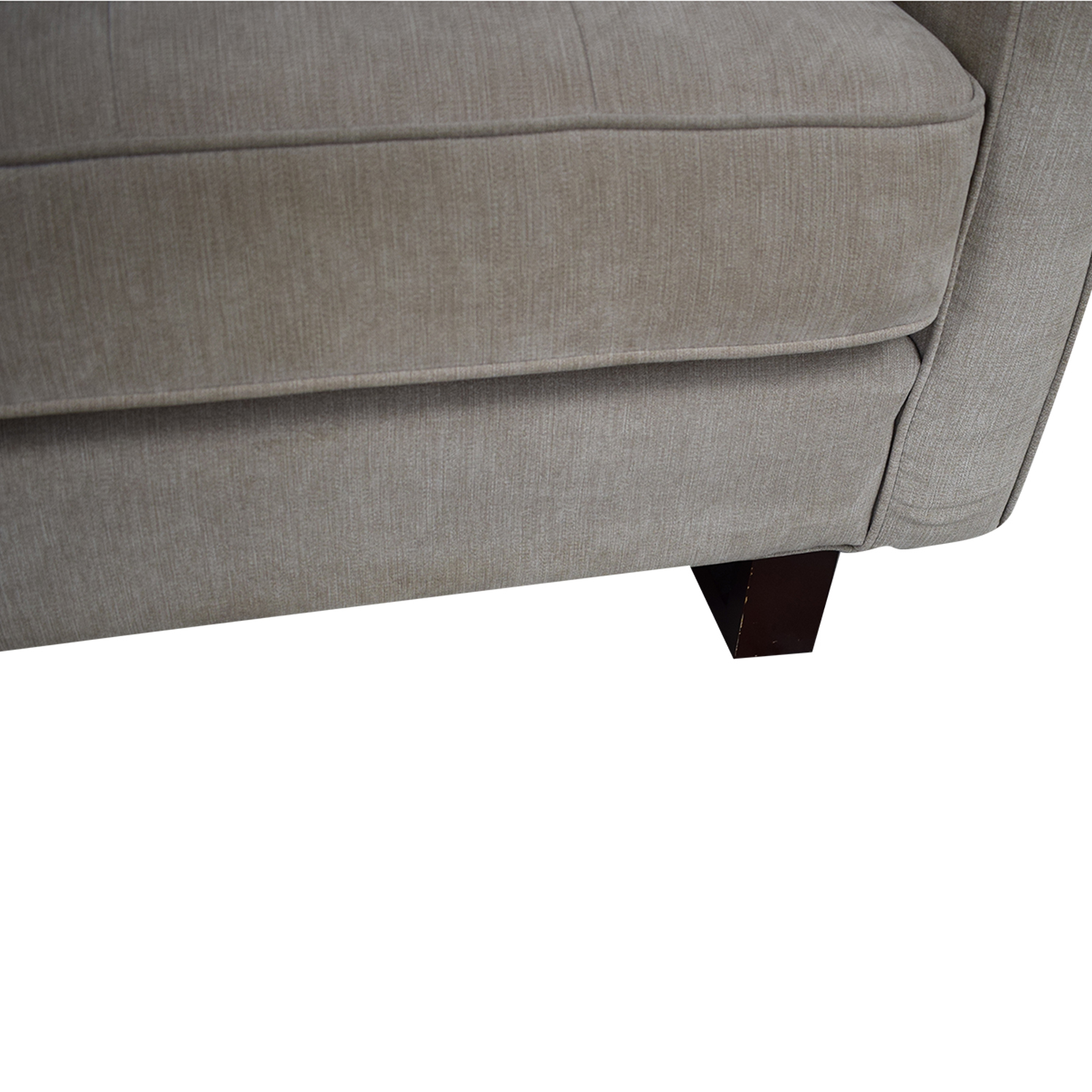 West Elm Beige Two Cushion Loveseat / Sofas