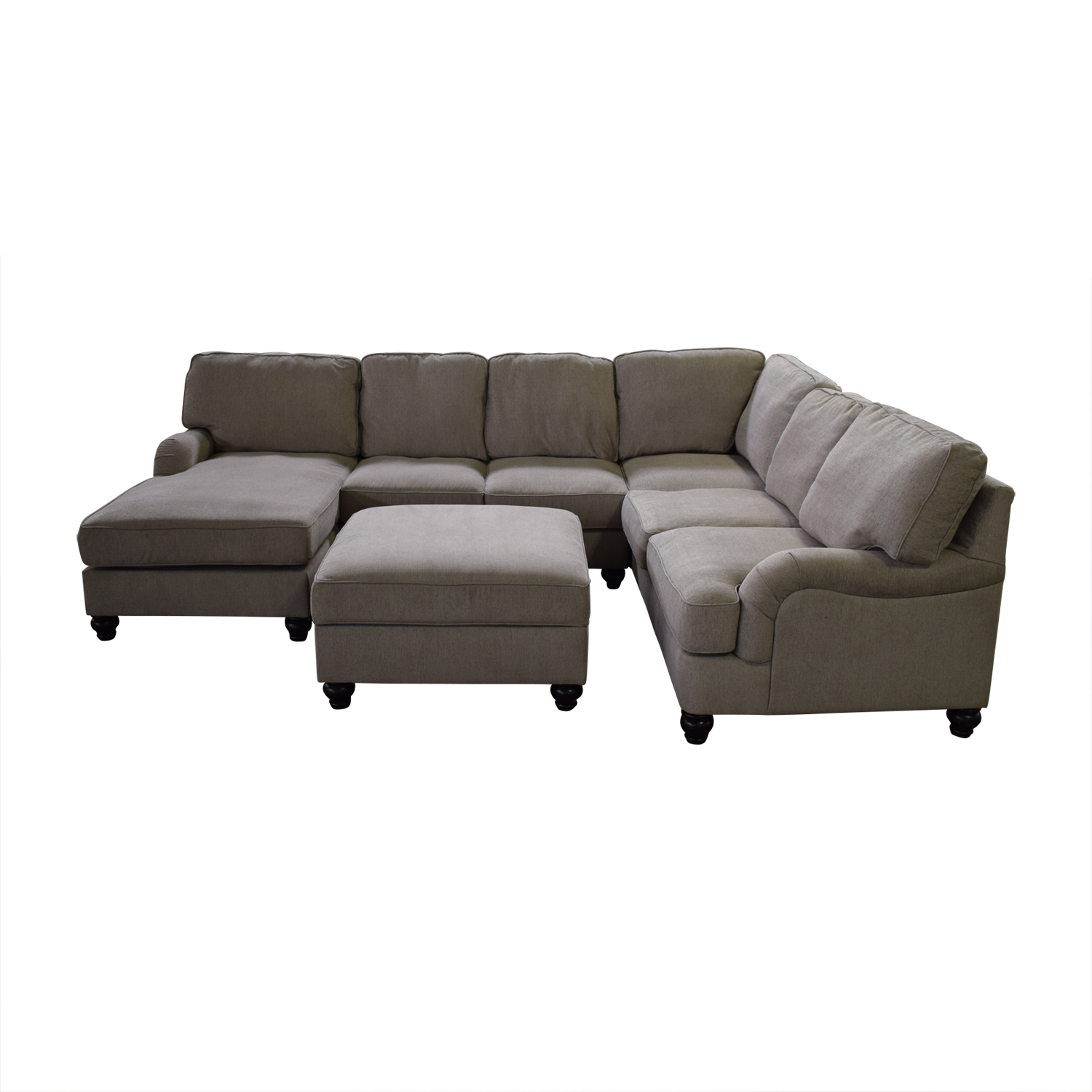 84% OFF - Ashley Furniture Ashley Furniture Chaise Sectional Sofa / Sofas