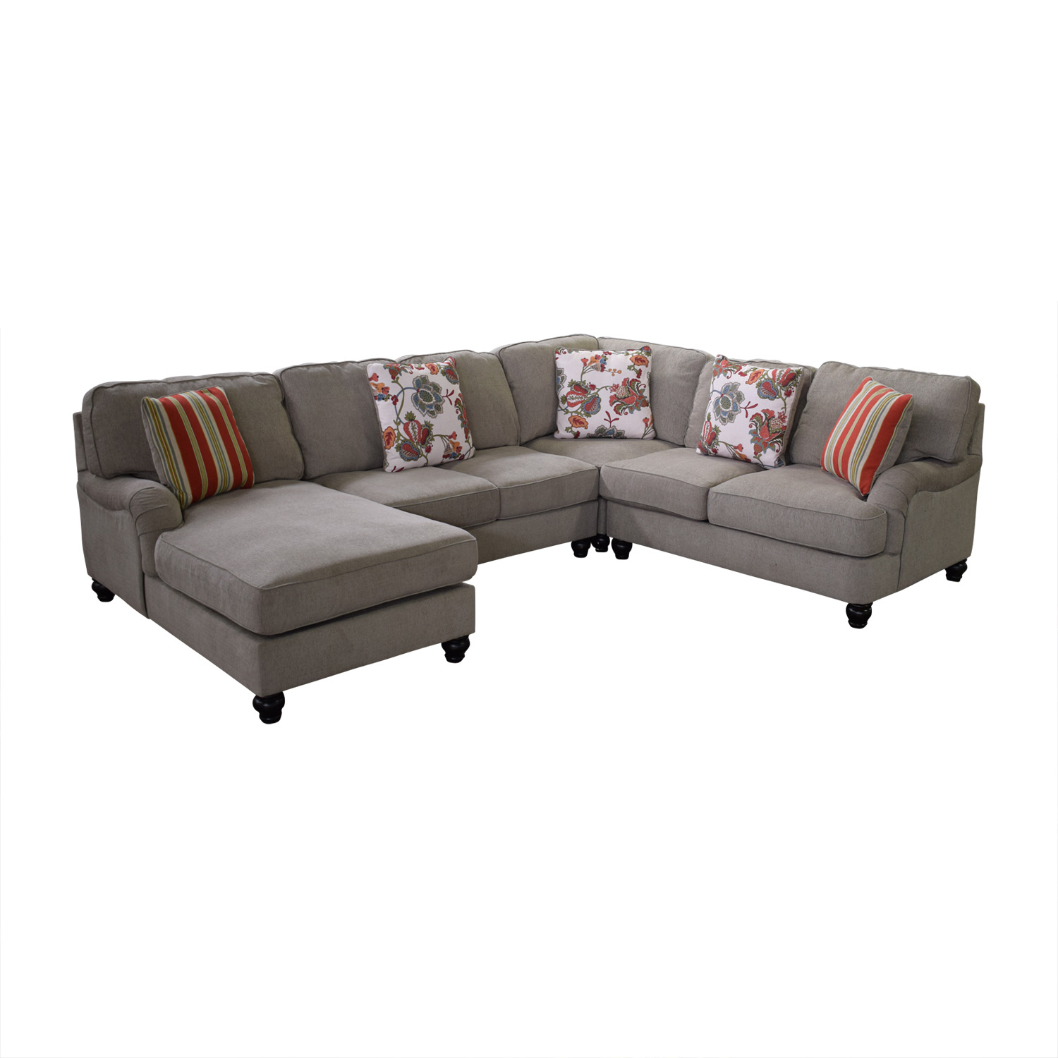 Ashley Furniture Chaise Sectional Sofa / Sofas