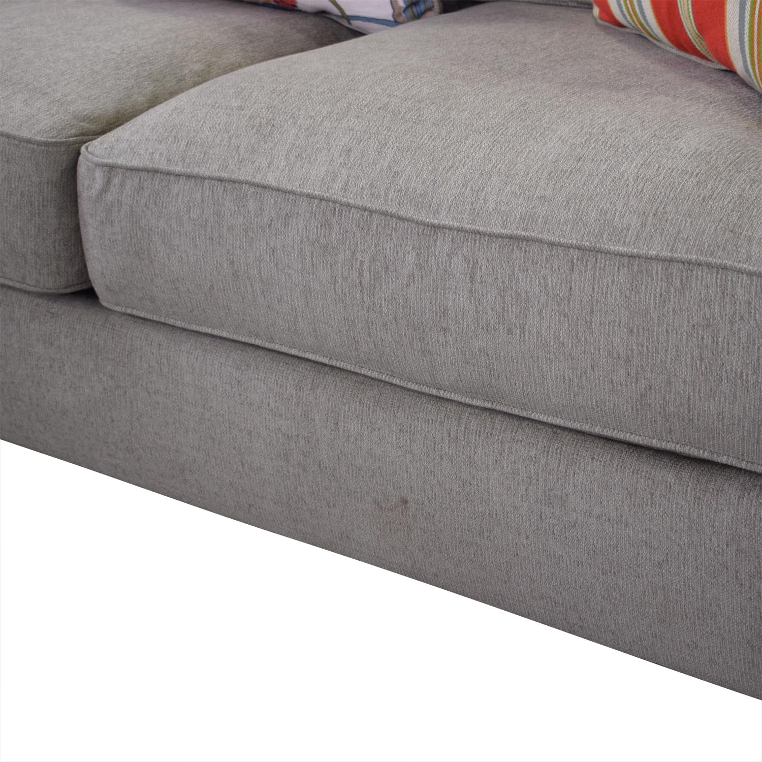 Ashley Furniture Chaise Sectional Sofa sale