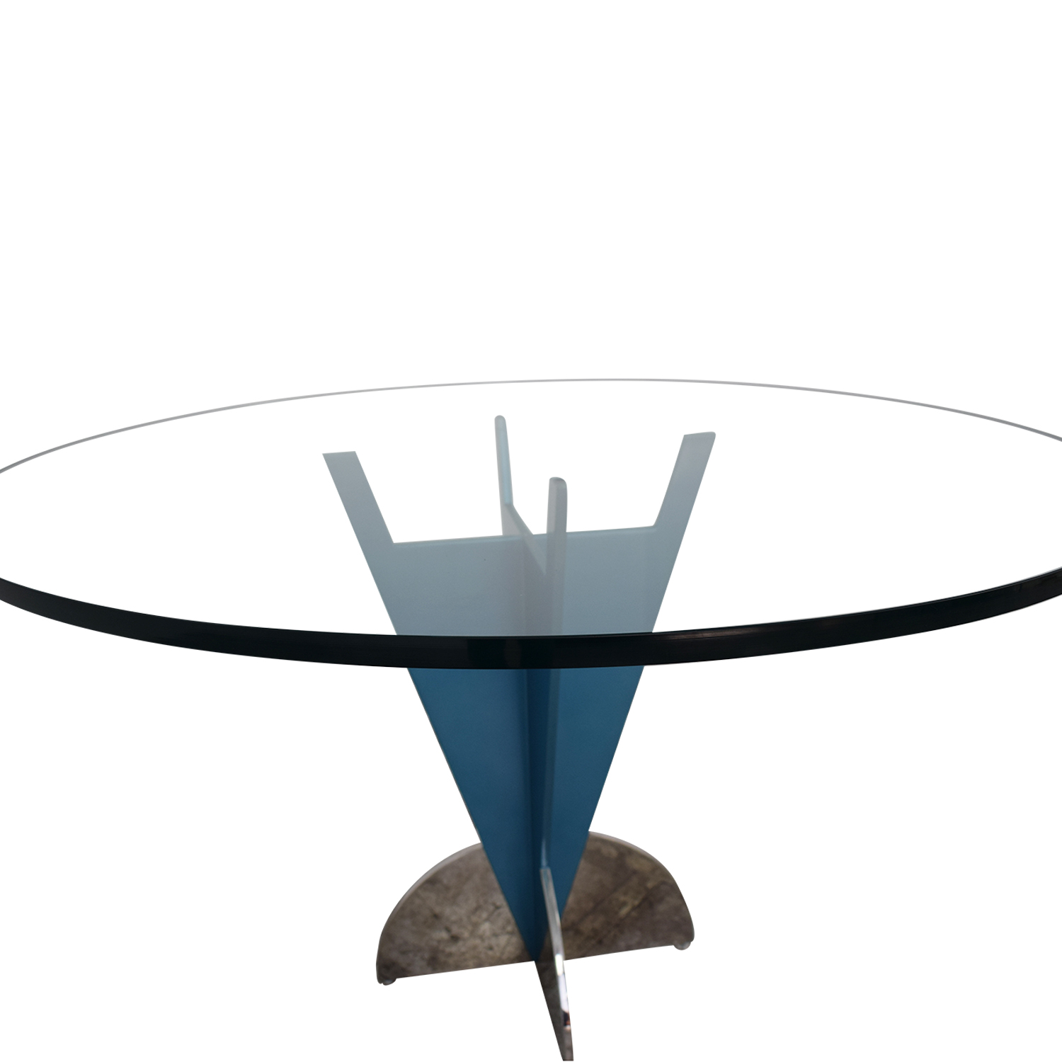 Fasem Fasem Glass Dining Table dimensions
