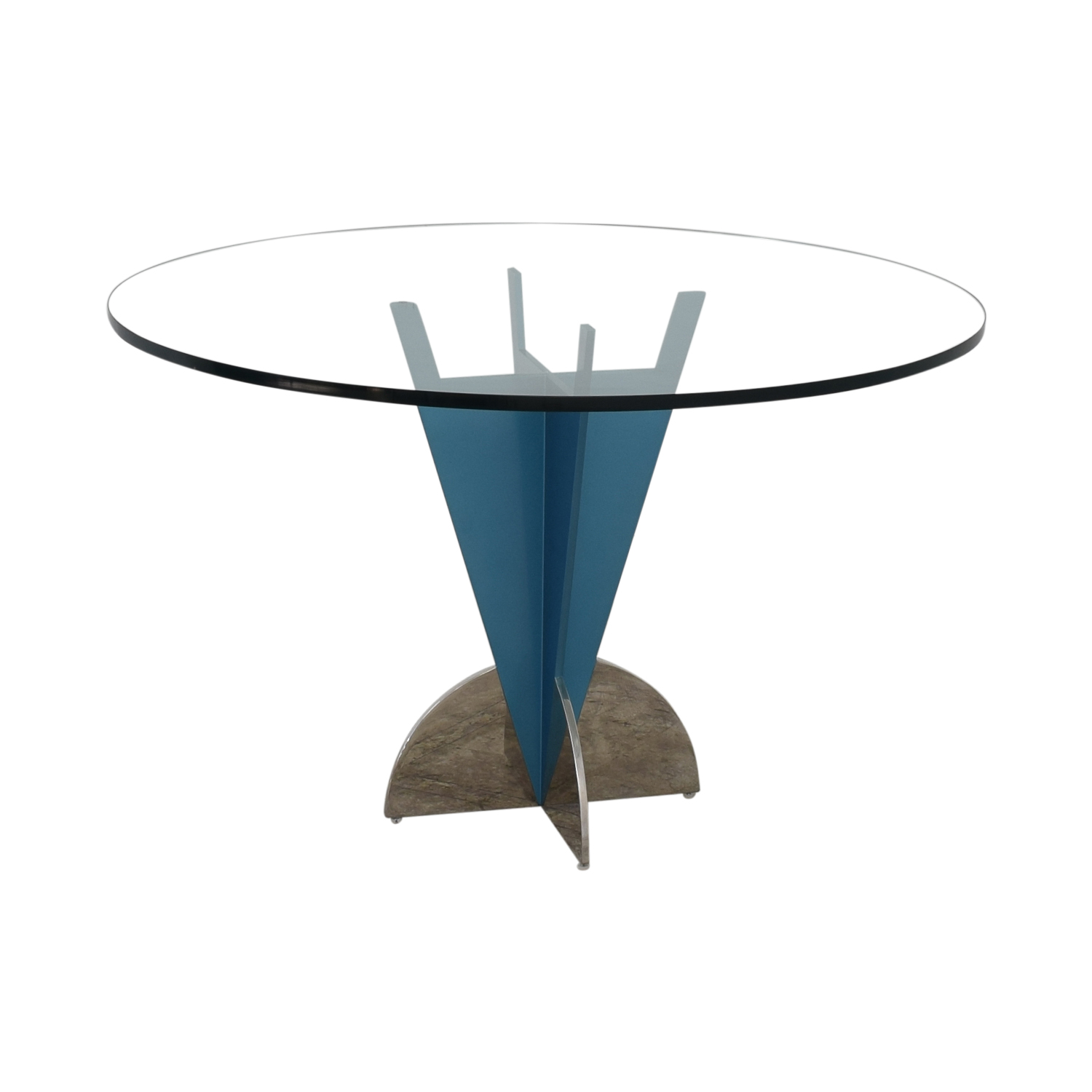 Fasem Fasem Glass Dining Table discount