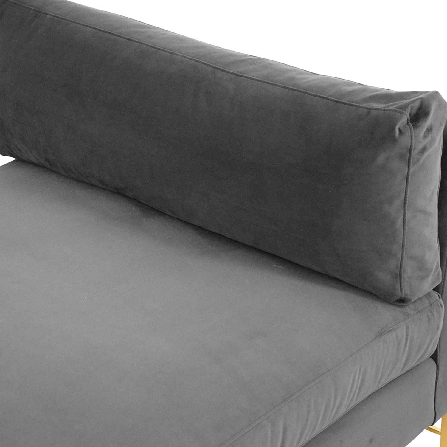 Crate & Barrel Crate & Barrel Tyson Daybed with Brass Base nyc