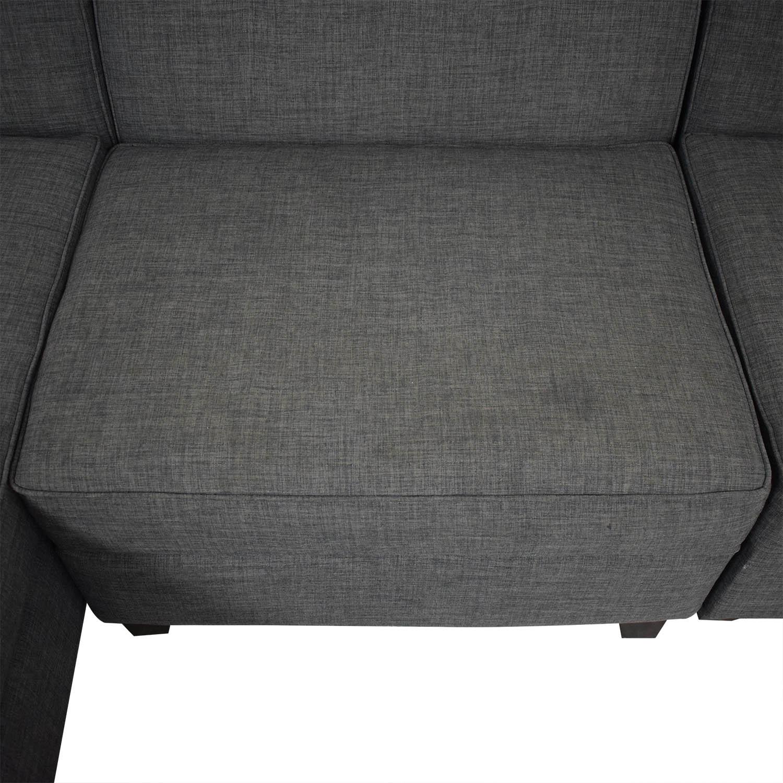 shop Macy's Jonathan Louis Chaise Sectional Sofa online