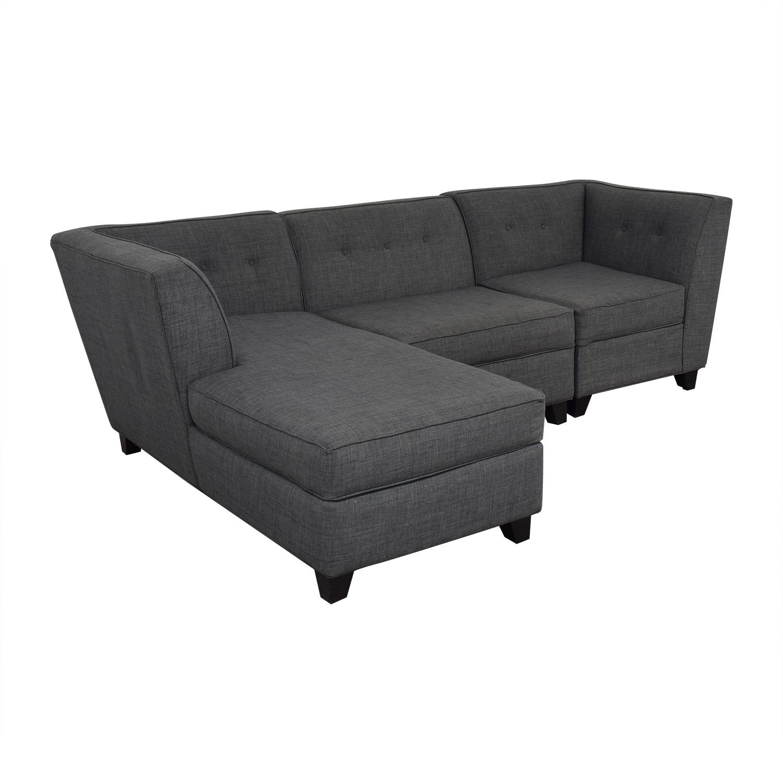 buy Macy's Jonathan Louis Chaise Sectional Sofa online