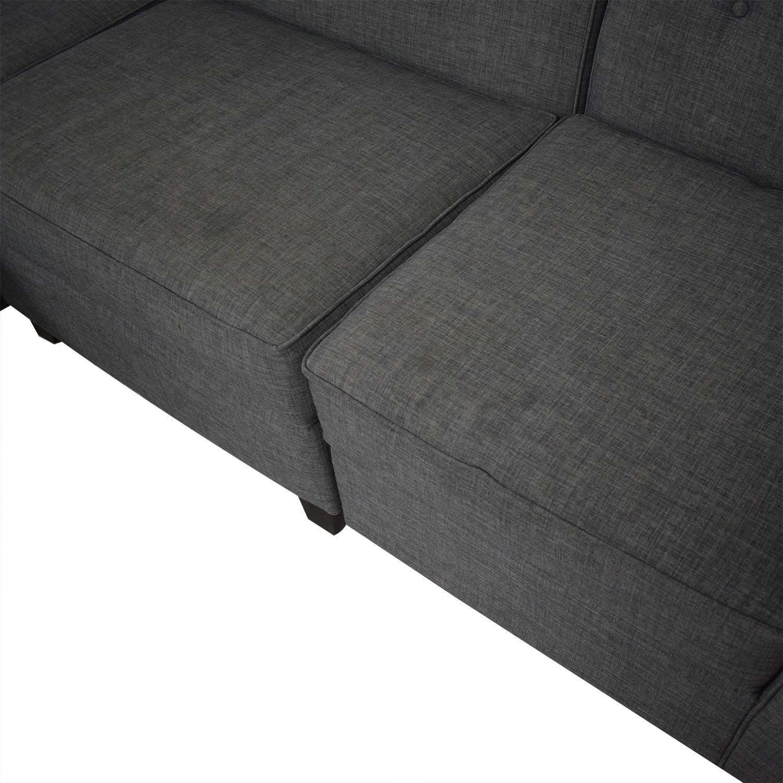 Macy's Jonathan Louis Chaise Sectional Sofa price