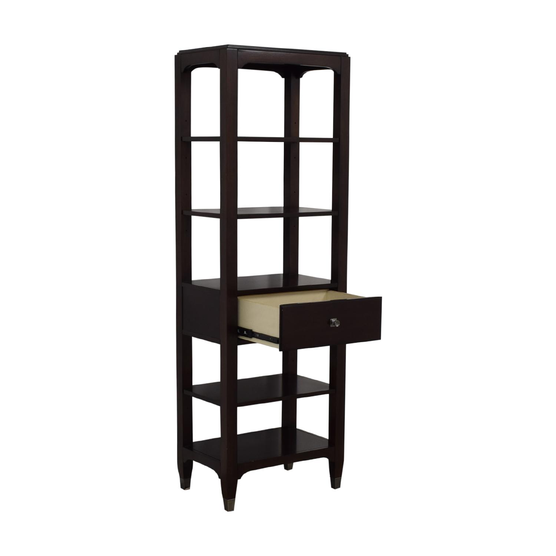shop Bassett Furniture Tower Shelving Bassett Furniture Storage