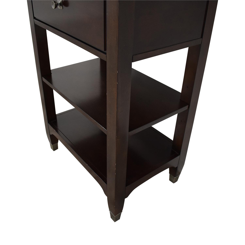 shop Bassett Furniture Tower Shelving Bassett Furniture
