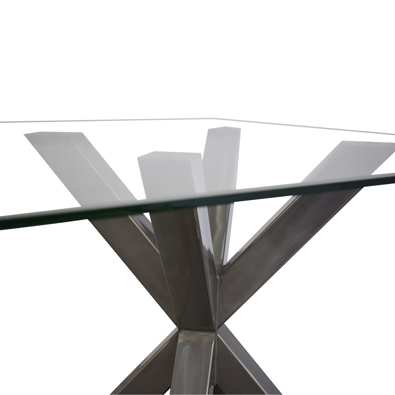 Glass Top Dining Table Tables
