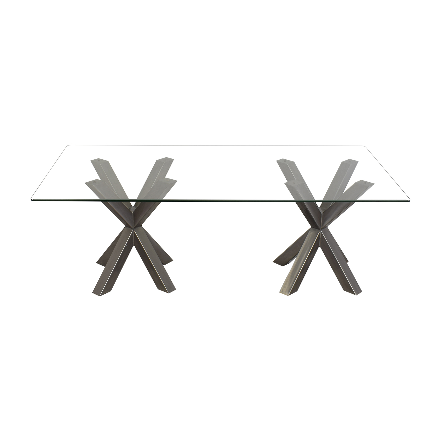 shop Glass Top Dining Table