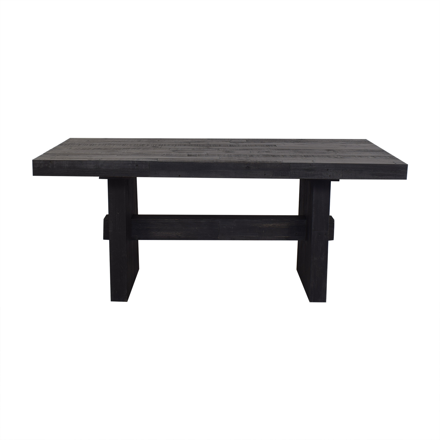 West Elm West Elm Black Emmerson Reclaimed Dining Table second hand