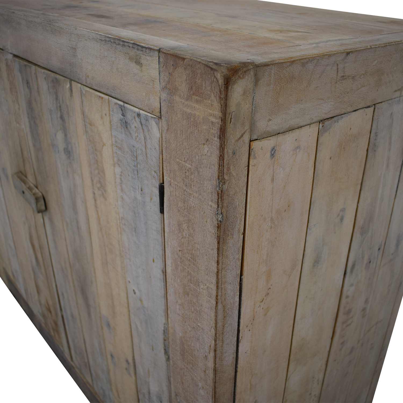 Custom Handmade French Country Cabinet