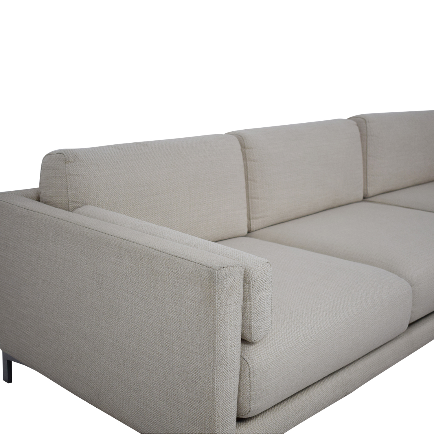 CB2 District Sectional Sofa with Chaise CB2