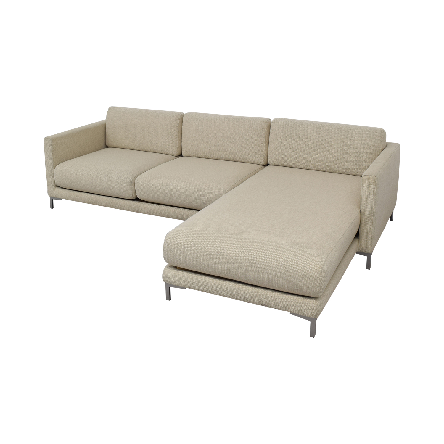 CB2 CB2 District Sectional Sofa with Chaise Sofas