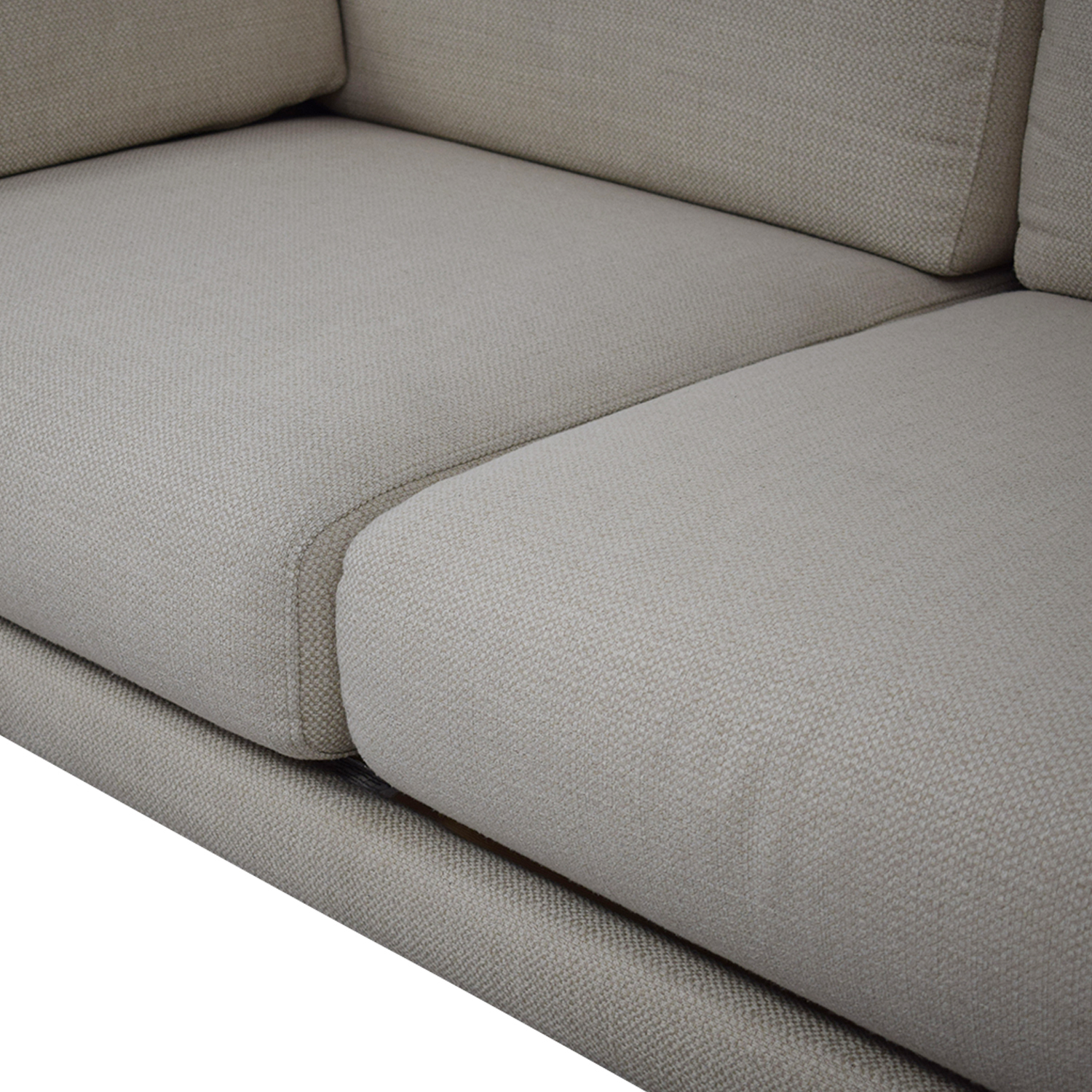 buy CB2 District Sectional Sofa with Chaise CB2