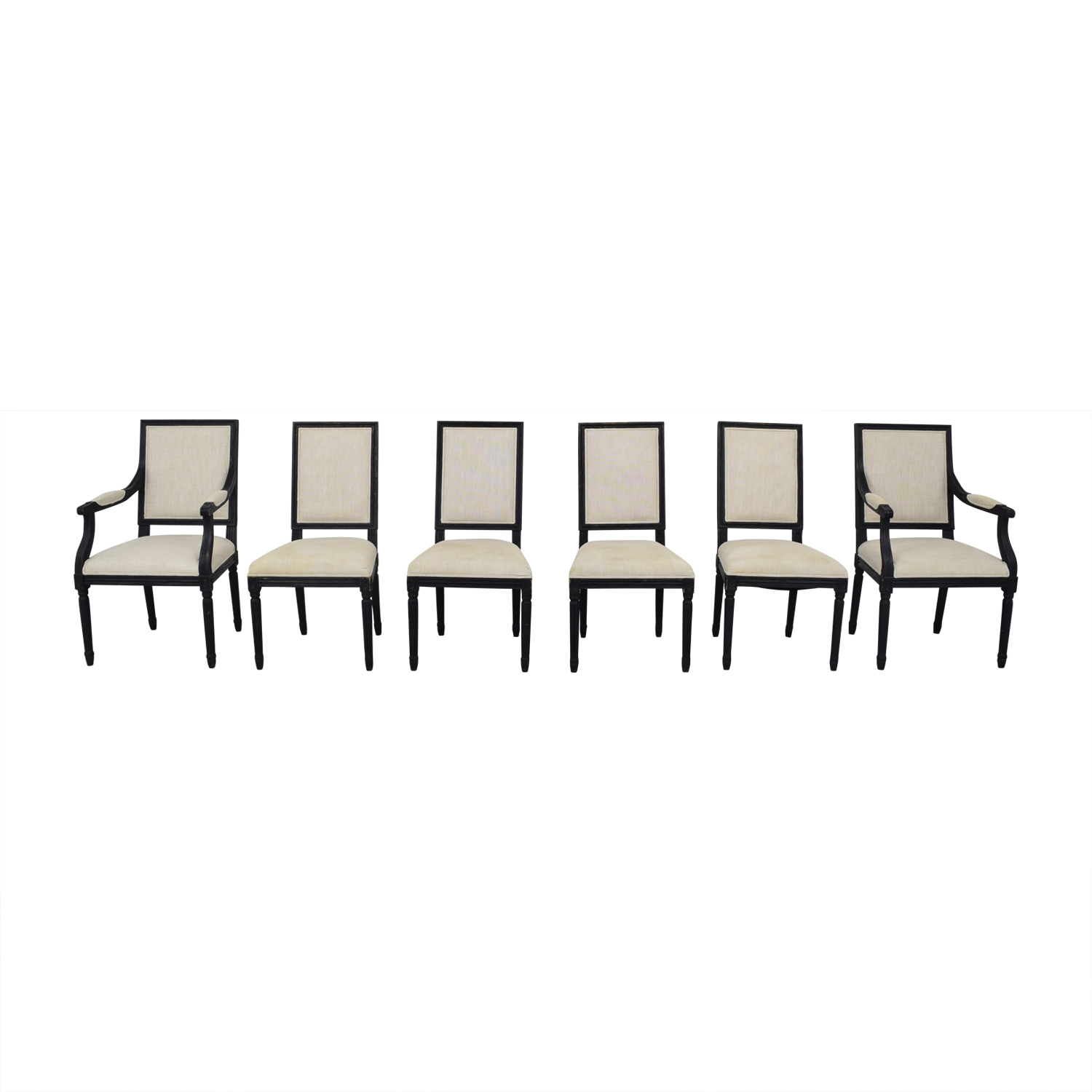 Restoration Hardware Restoration Hardware French Square Back Chairs nyc