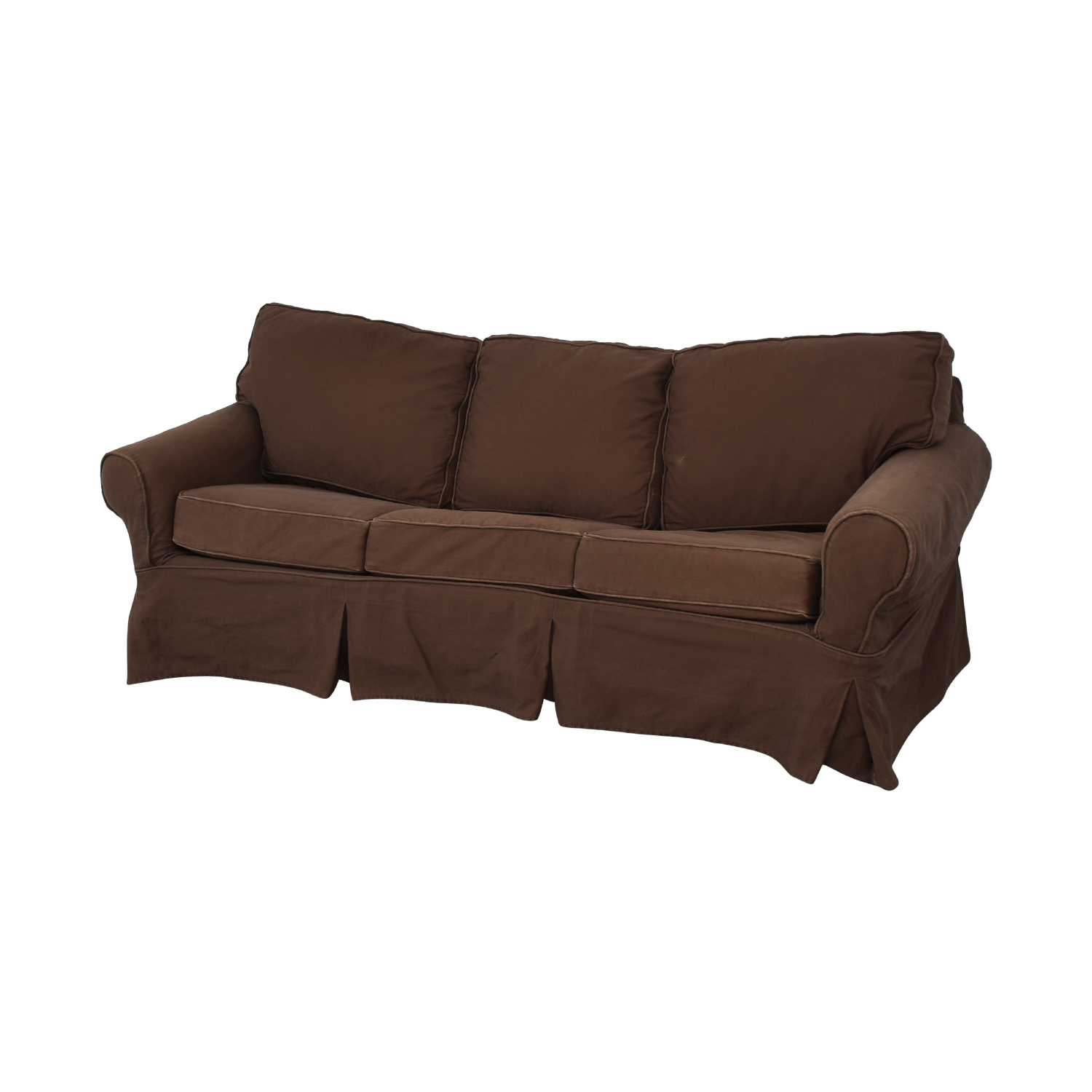 Mitchell Gold + Bob Williams Pottery Barn by Mitchell Gold + Bob Williams Sleeper Sofa brown