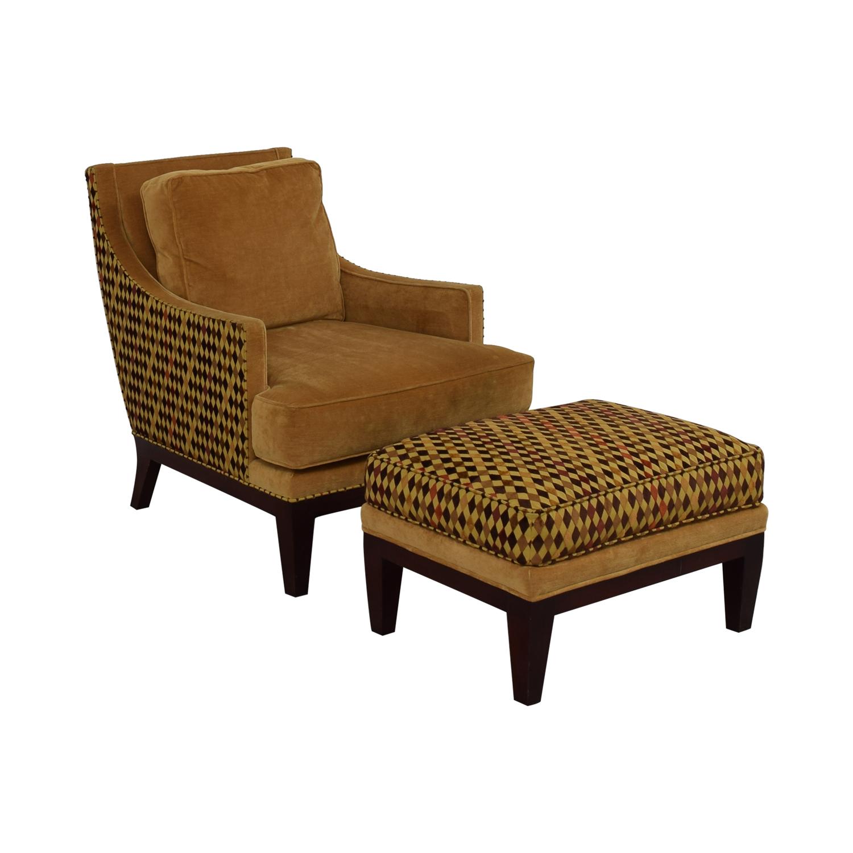 Stickley Mid Century Accent Chair sale