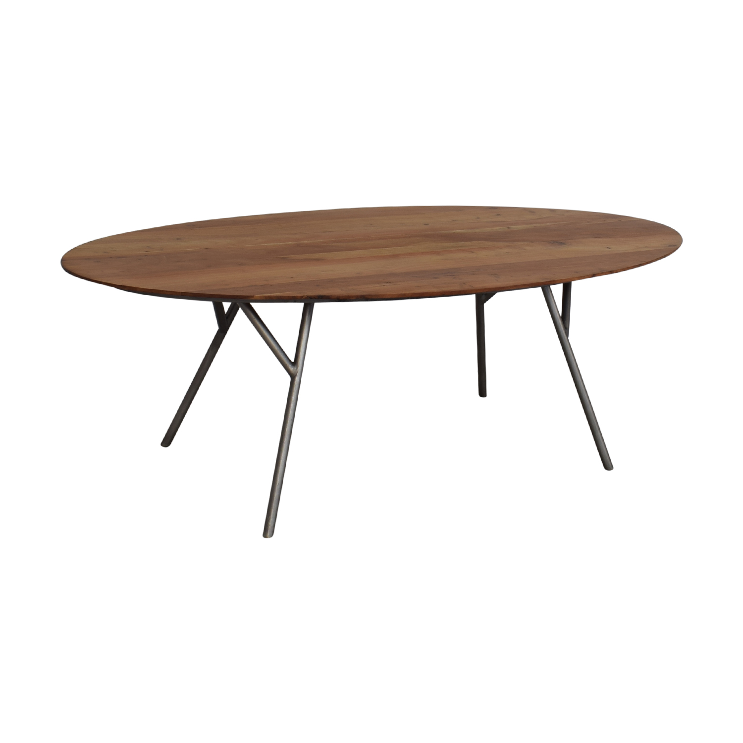 shop CB2 Oval Dining Table CB2 Tables