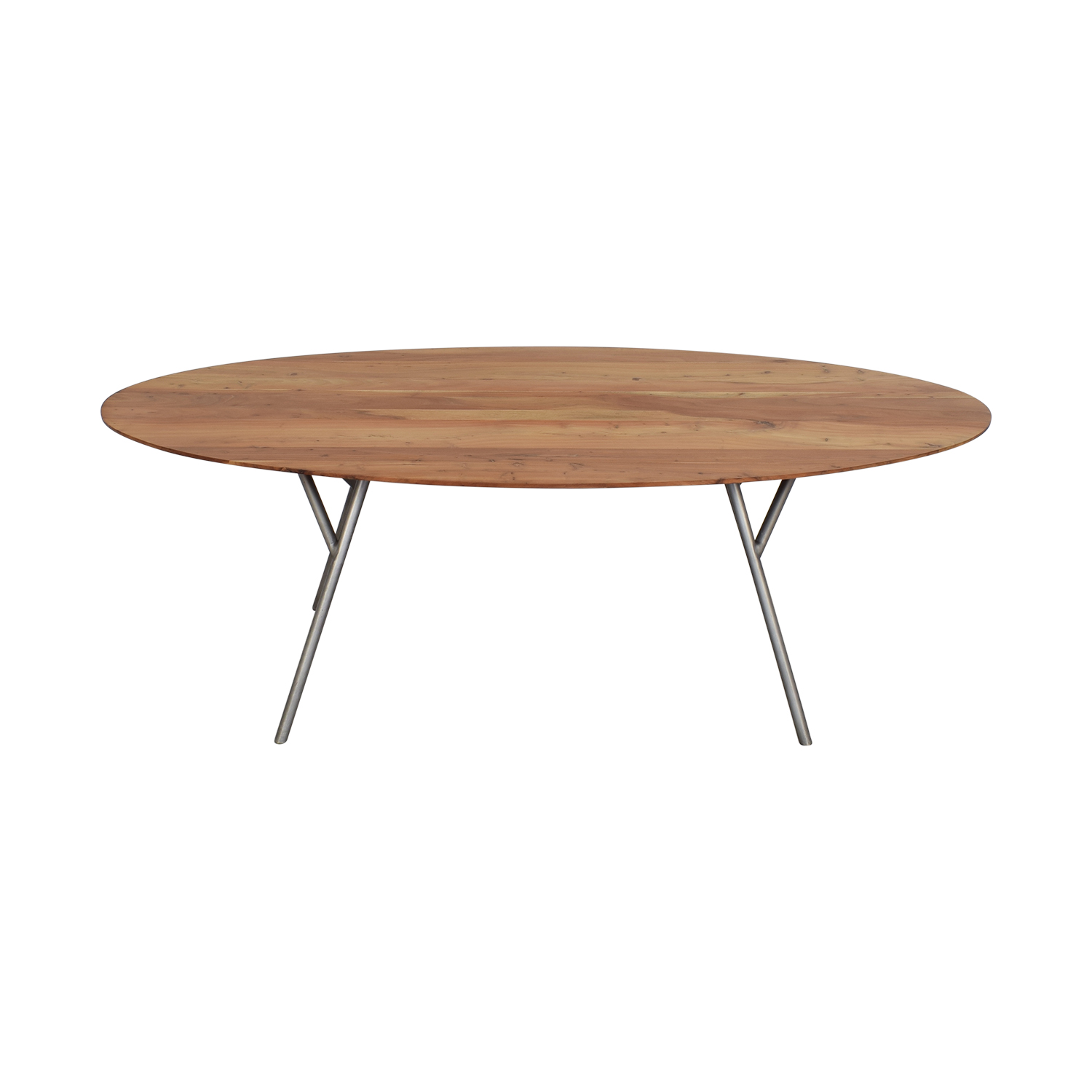 CB2 Oval Dining Table / Tables