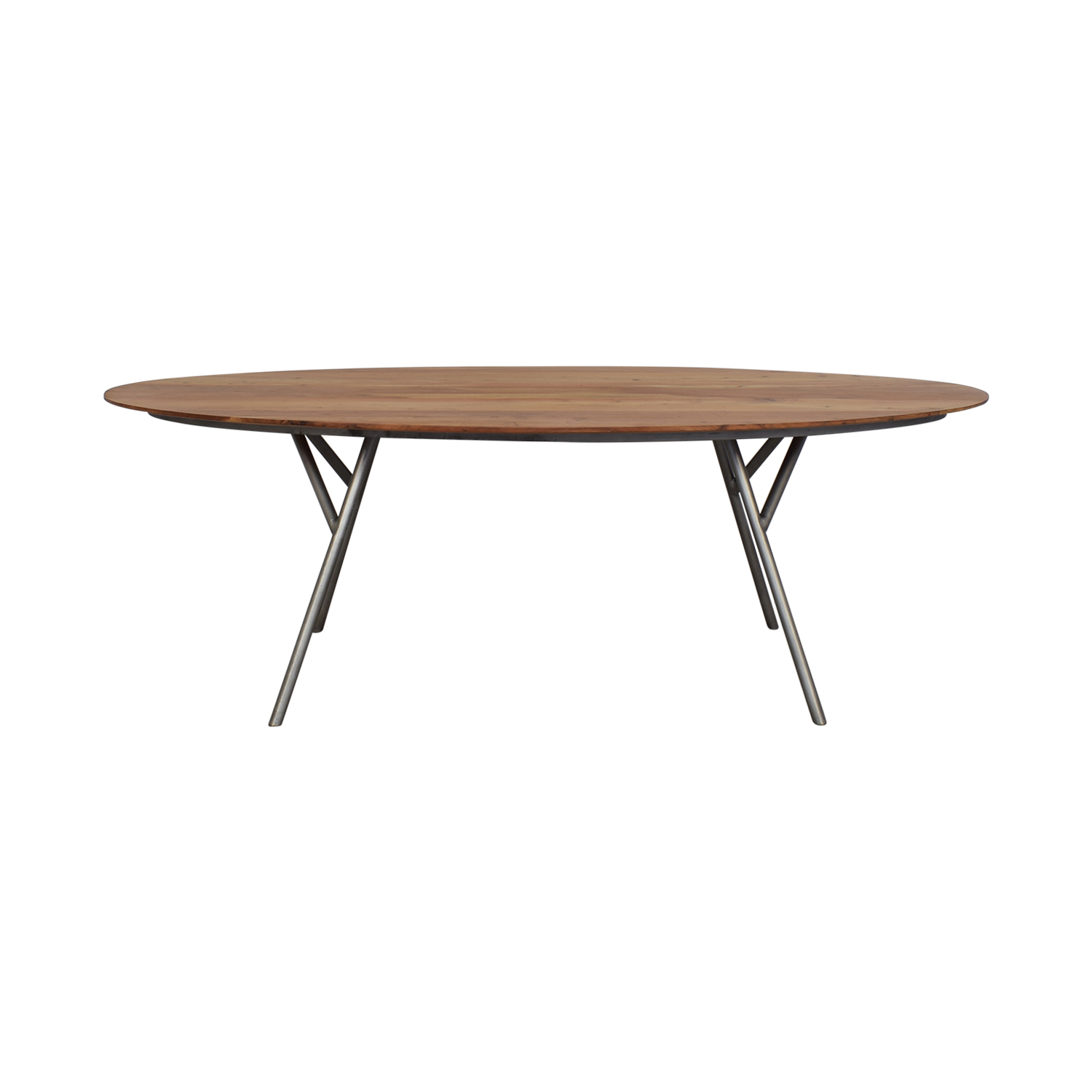 CB2 CB2 Oval Dining Table nj