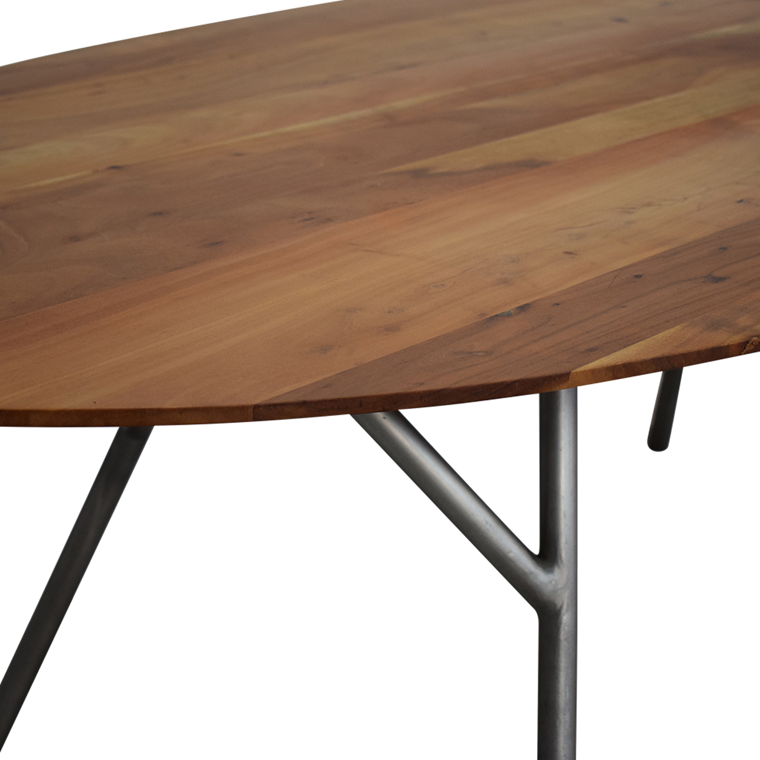 buy CB2 Oval Dining Table CB2