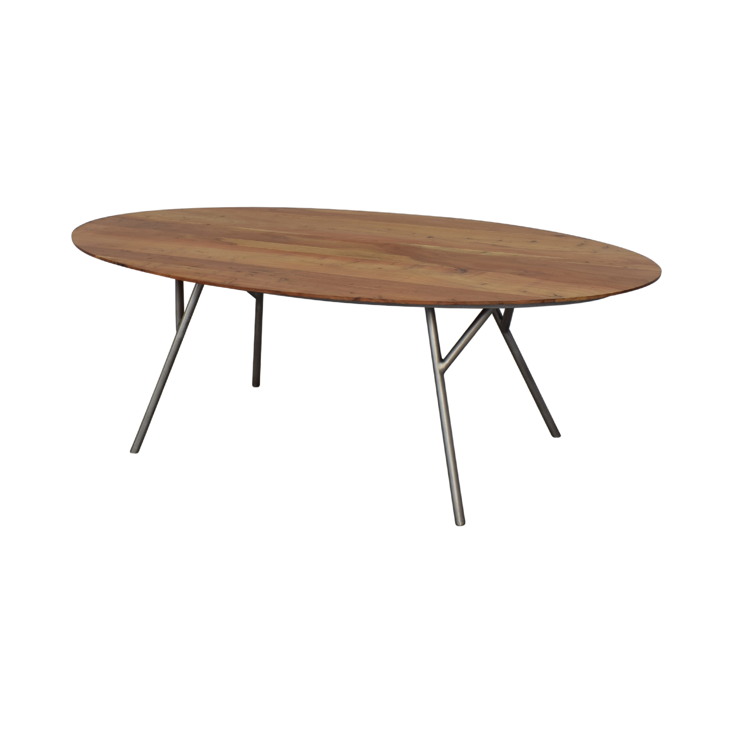 shop CB2 Oval Dining Table CB2
