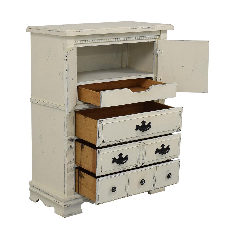 Custom Painted Solid Wood Dresser Dressers