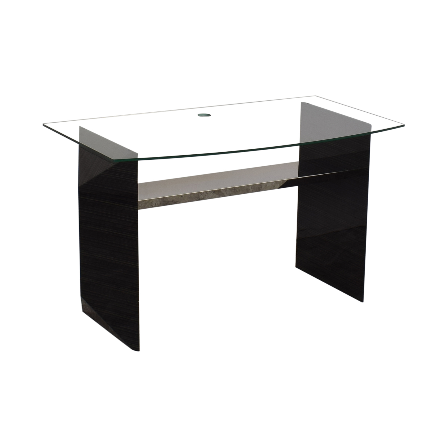 Glass Home Office Desk discount
