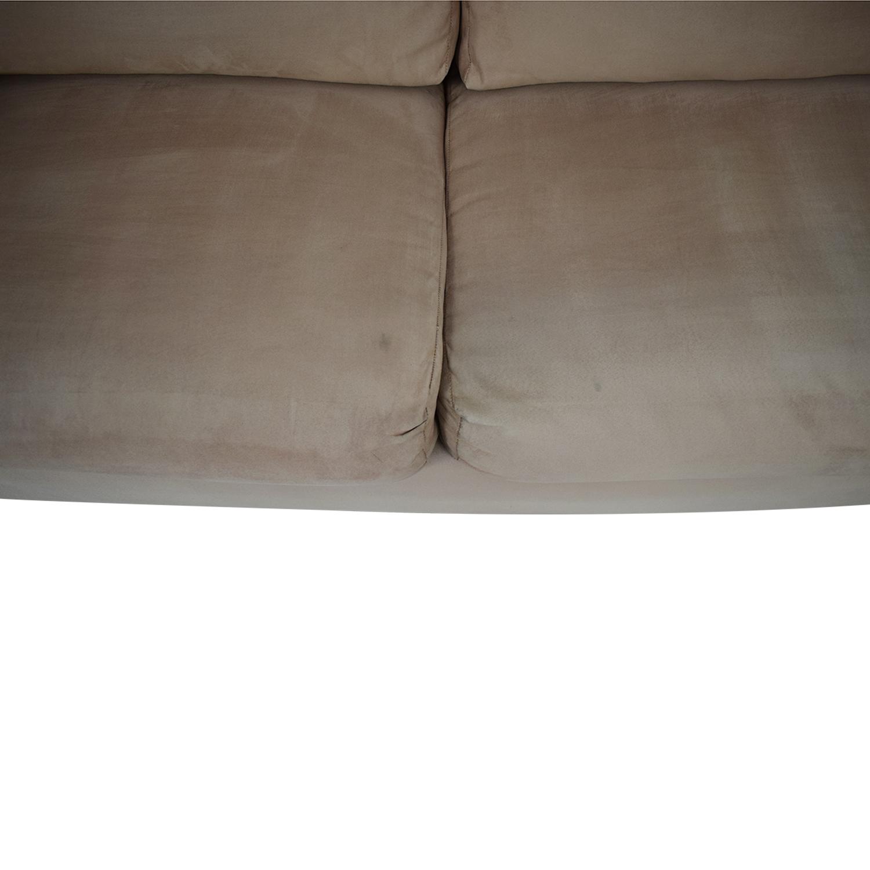 Rowe Furniture Rowe Furniture Two Cushion Sleeper Sofa nj