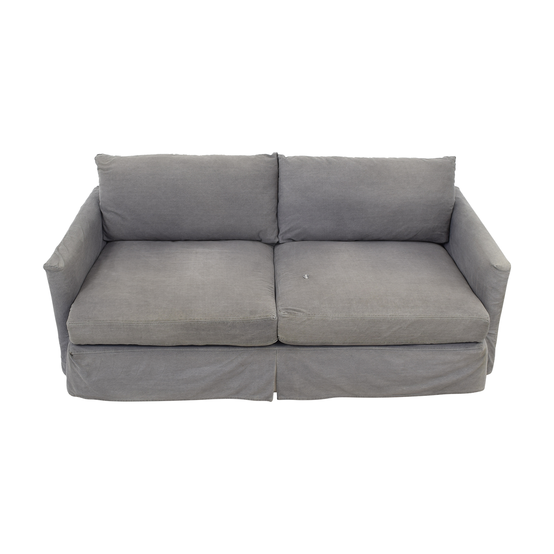 Crate & Barrel Lounge II Petite Slipcovered Sofa / Sofas