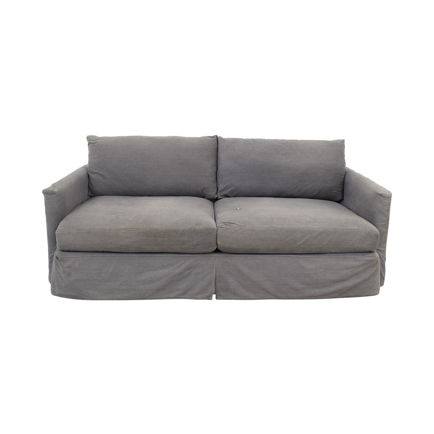 Crate & Barrel Crate & Barrel Lounge II Petite Slipcovered Sofa discount