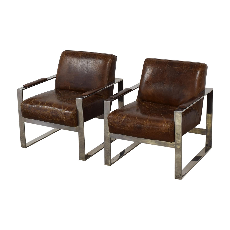 Mohr & McPherson Mohr & McPherson Mid Century Club Chairs nyc