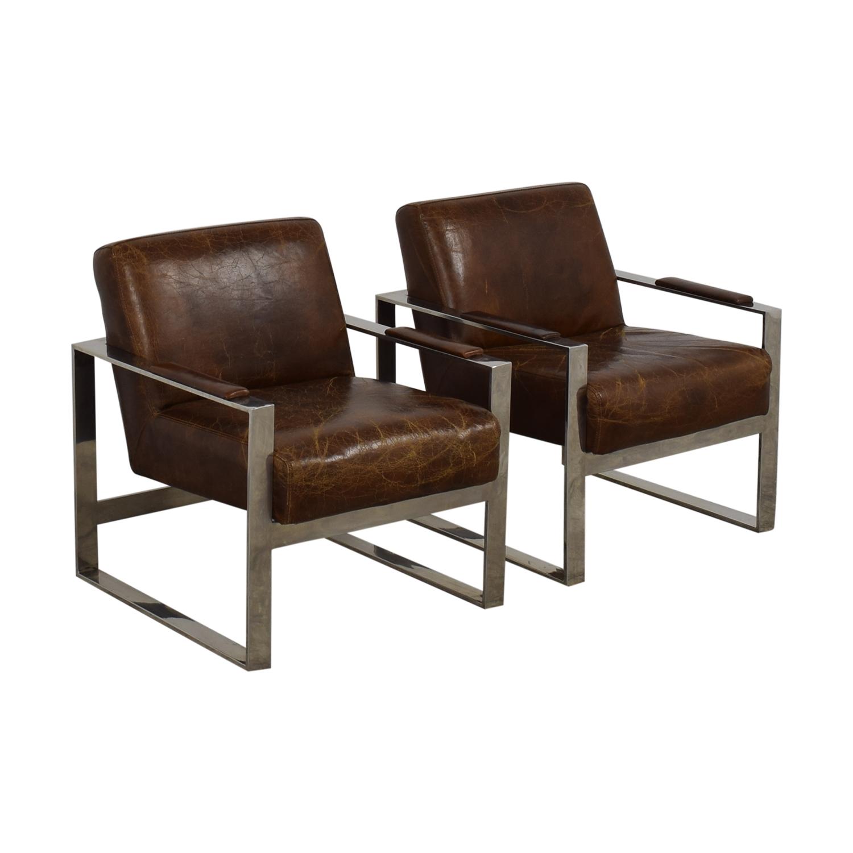 Mohr & McPherson Mohr & McPherson Mid Century Club Chairs