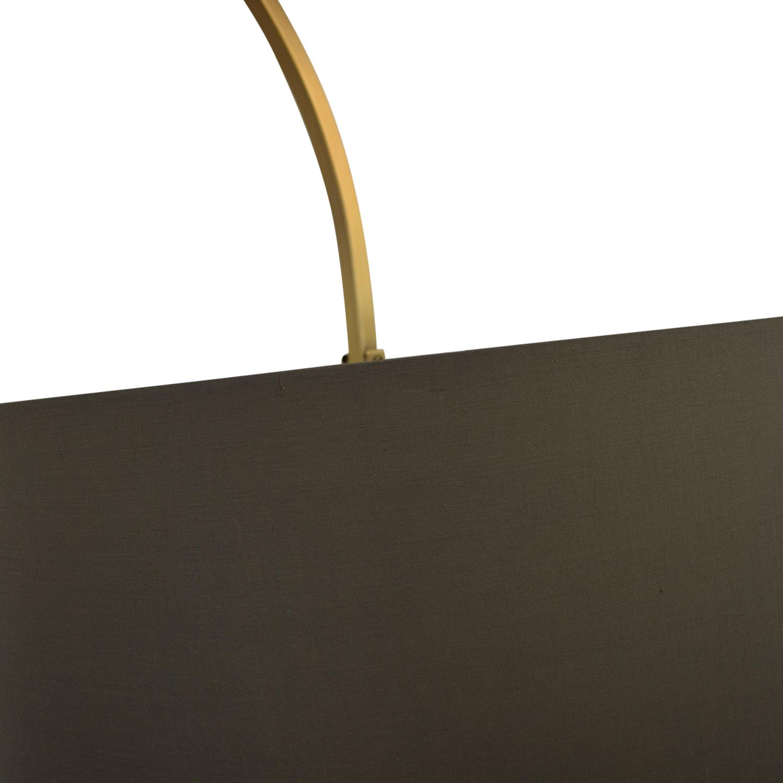 West Elm Overarching Lamp / Decor