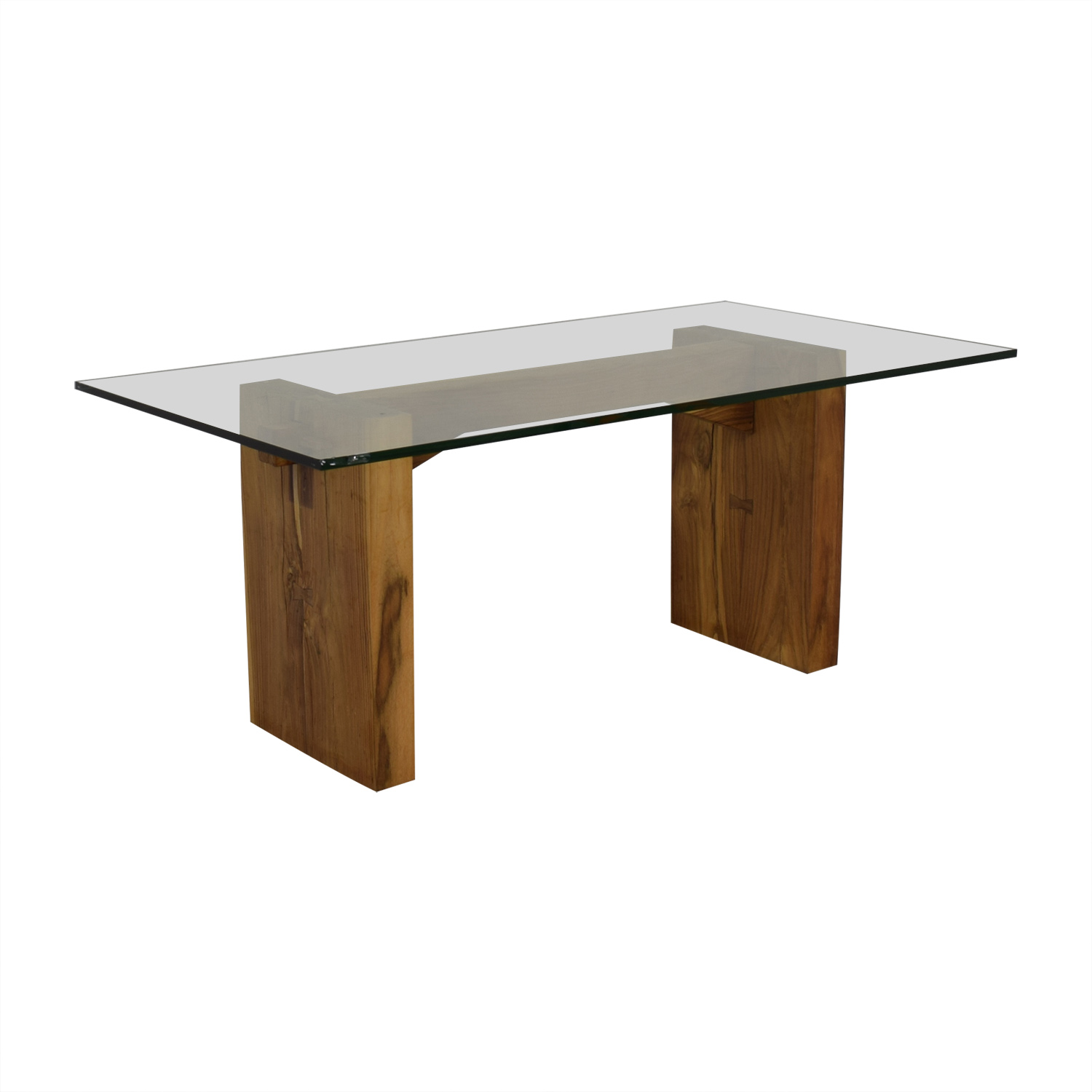 From the Source From the Source Glass Dining Table on sale