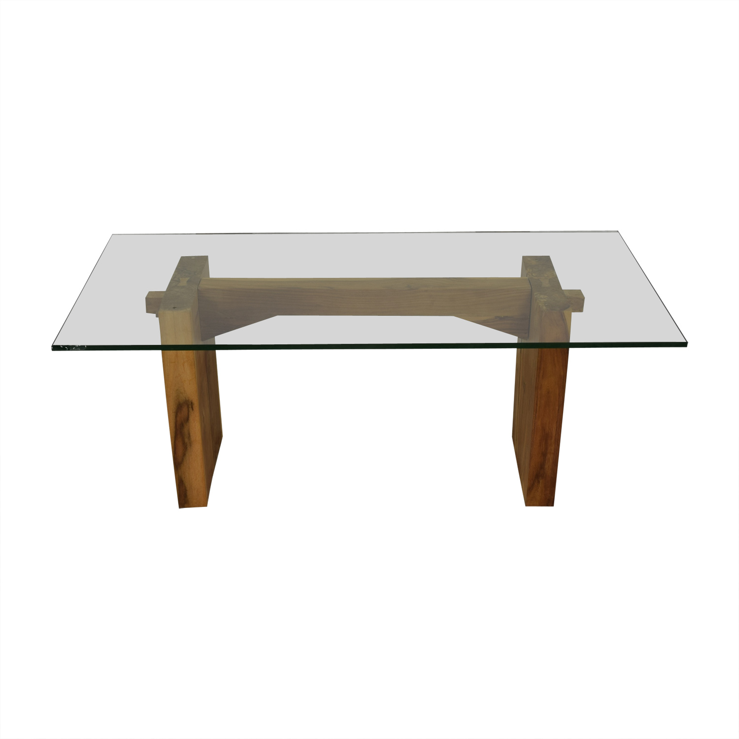 buy From the Source Glass Dining Table From the Source Dinner Tables