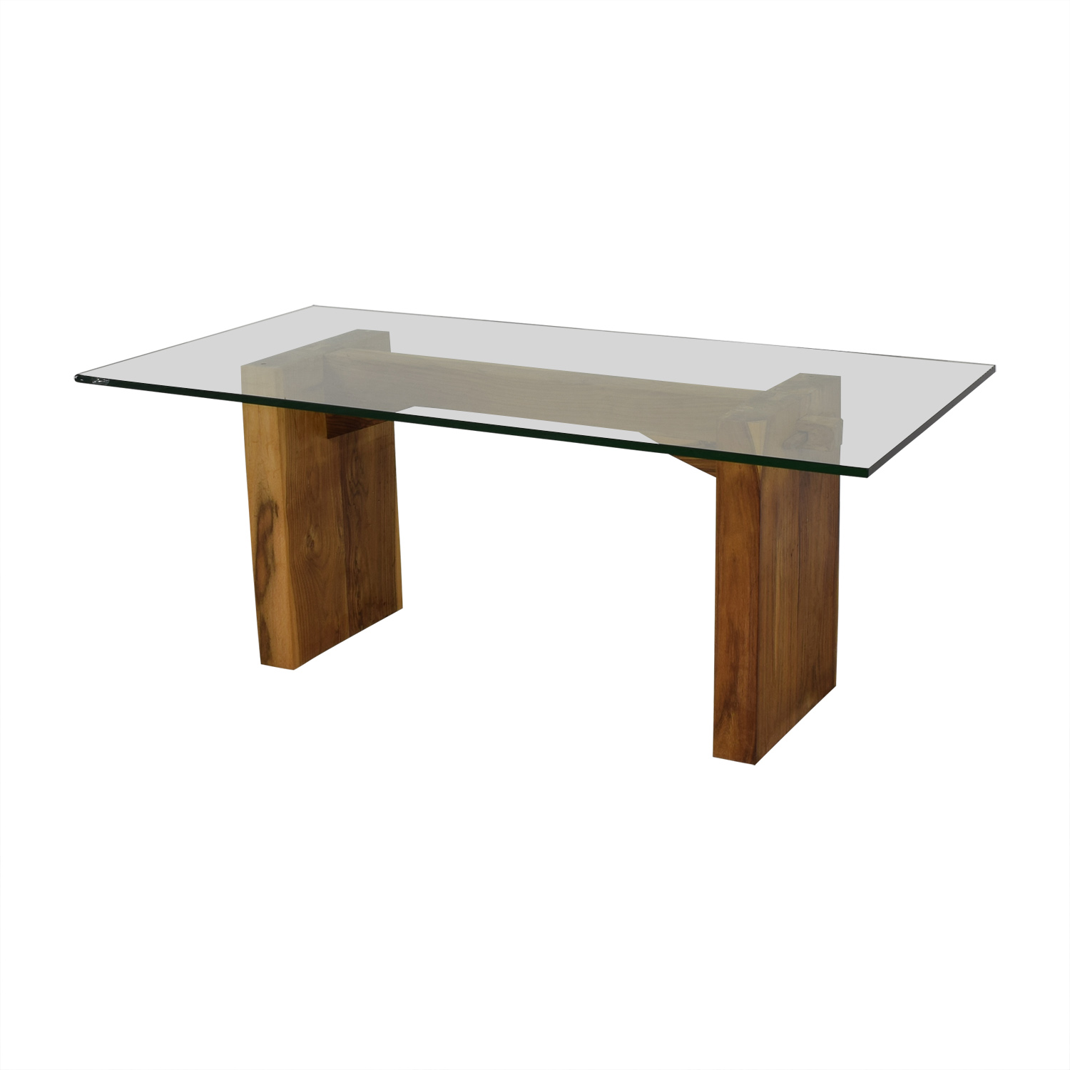 From the Source From the Source Glass Dining Table nj