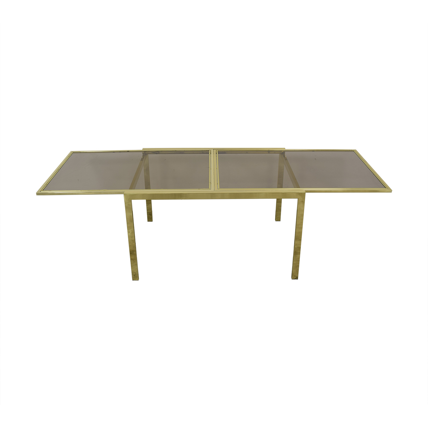 buy Glass Extension Dining Table