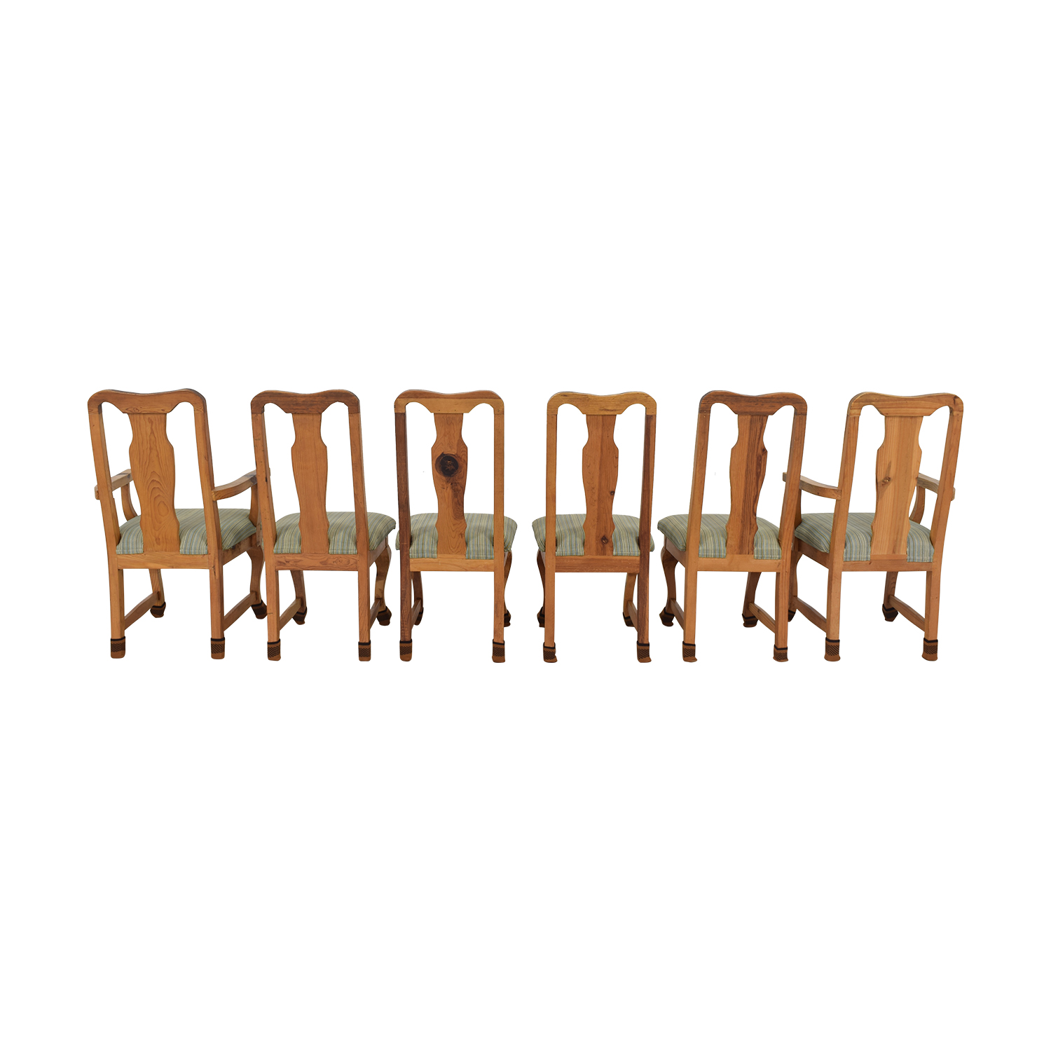 Jensen-Lewis Jensen-Lewis Fiddle Back Dining Chairs dimensions