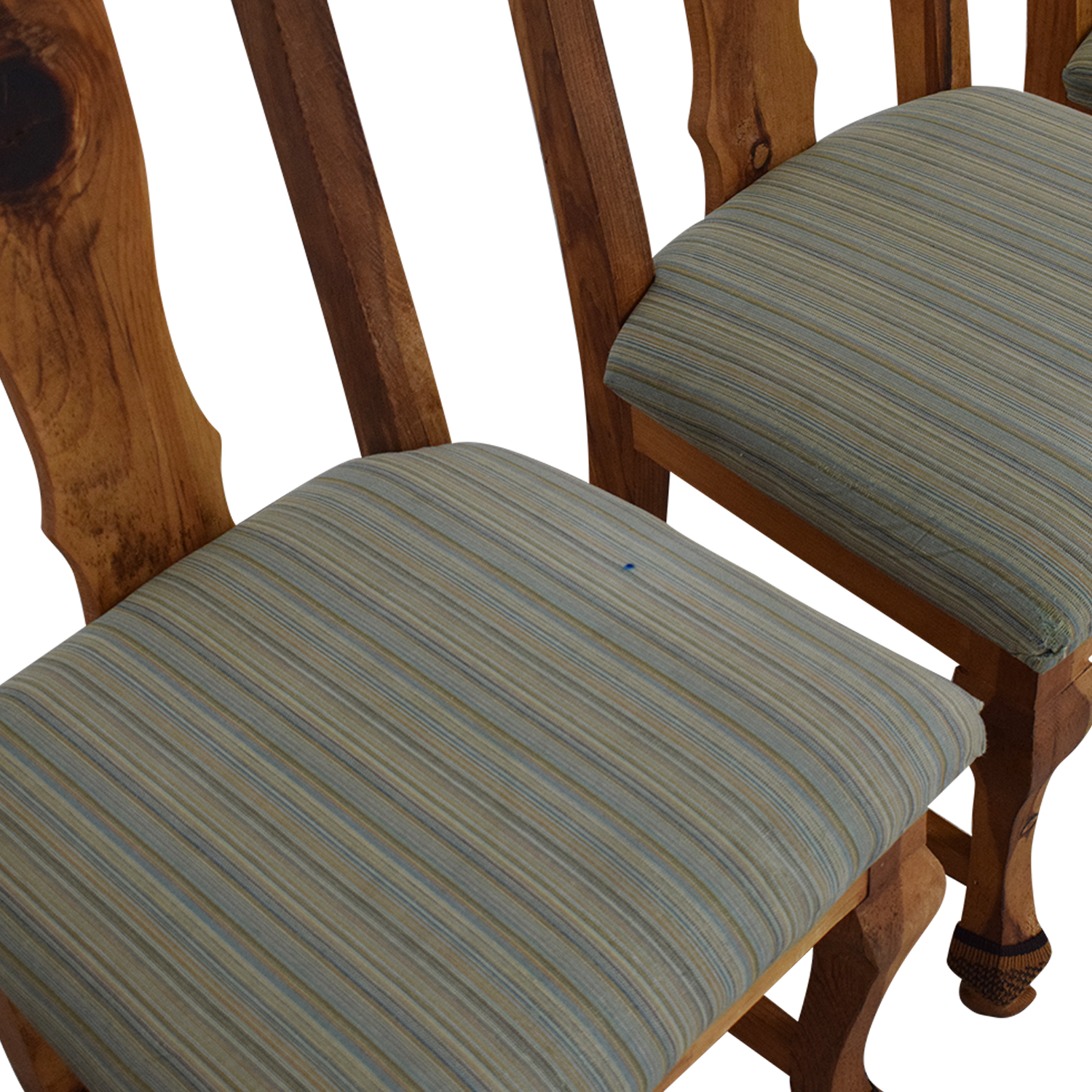 Jensen-Lewis Jensen-Lewis Fiddle Back Dining Chairs used