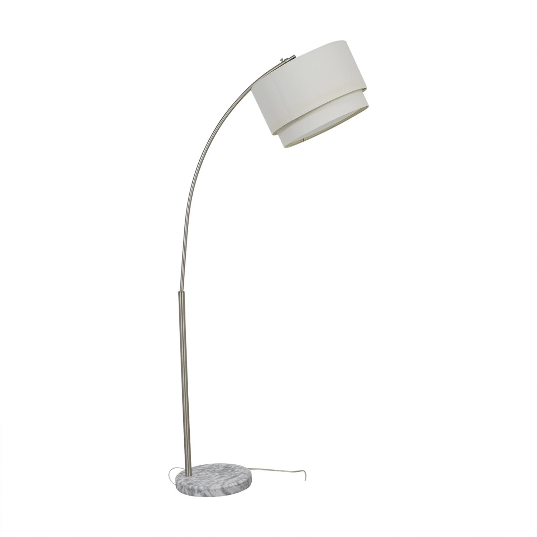 Crate & Barrel Meryl Arc Floor Lamp / Decor