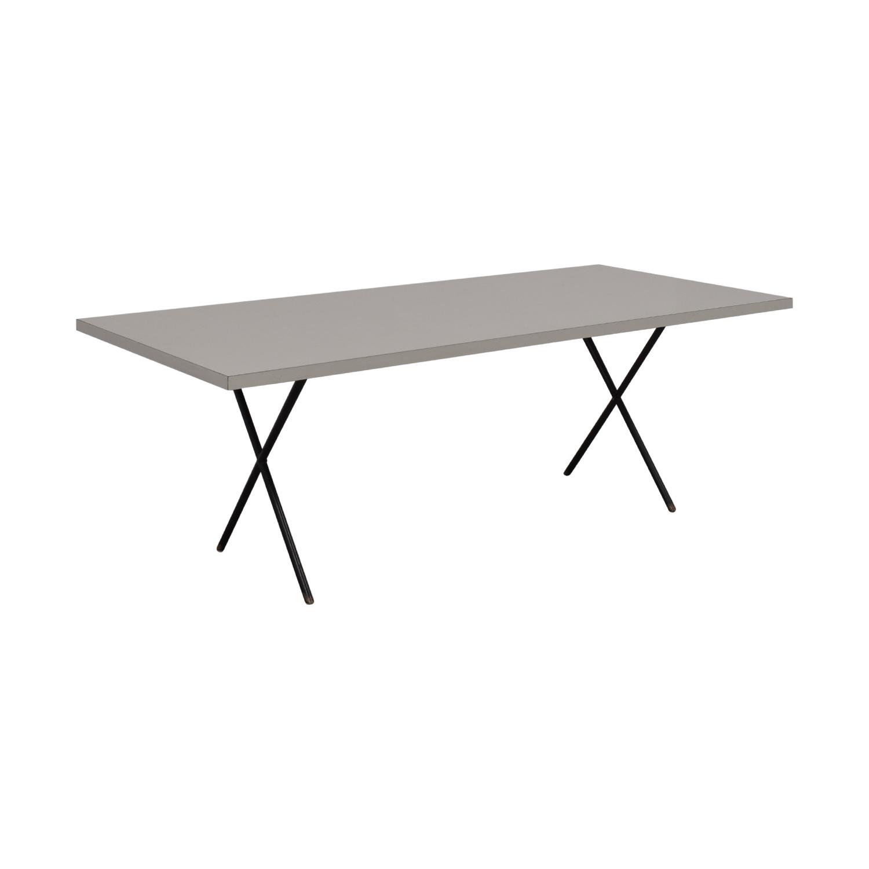 Herman Miller Herman Miller George Nelson X-Leg Dining Table price