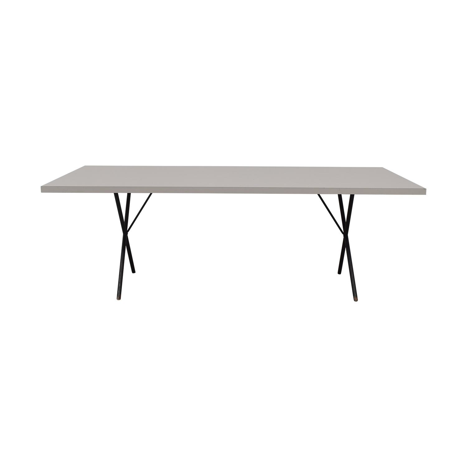 Herman Miller George Nelson X-Leg Dining Table / Dinner Tables