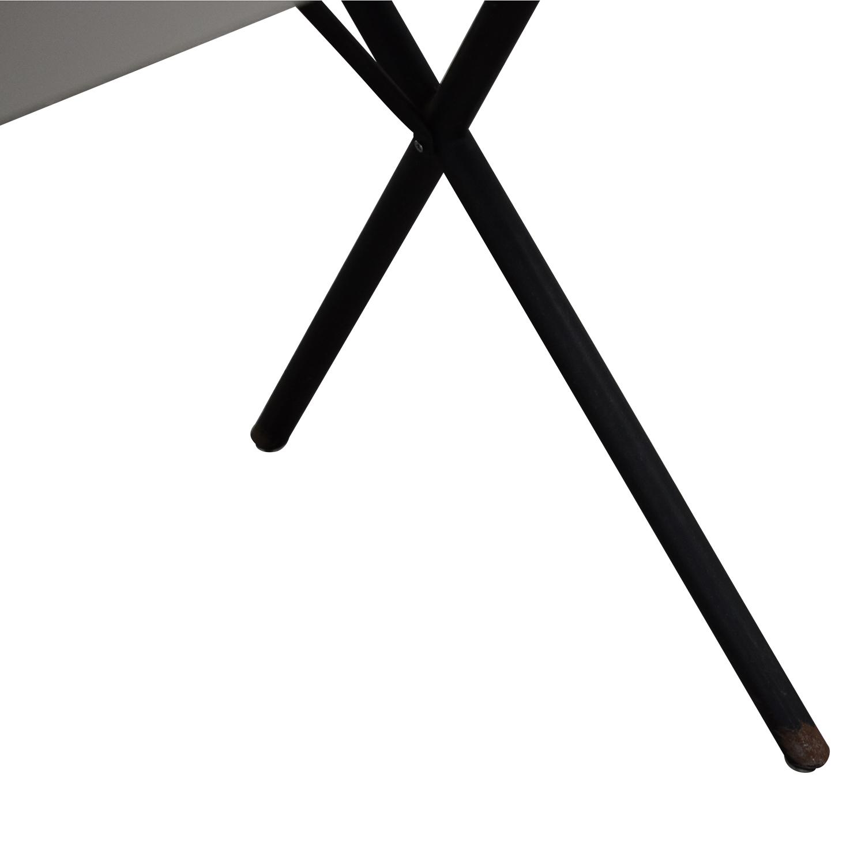 Herman Miller Herman Miller George Nelson X-Leg Dining Table on sale